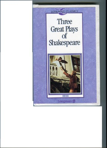 Download Three Great Plays of Shakespeare (Longman Classics) 0582035864