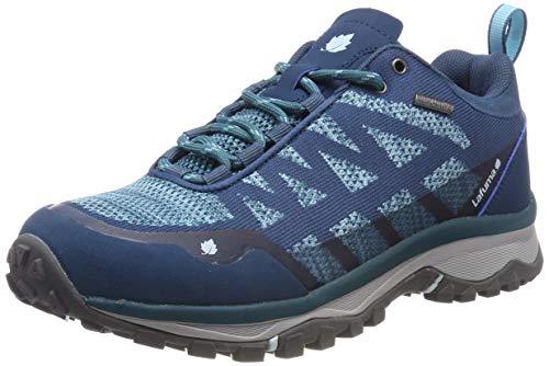 Lafuma Shift Mid Clim W - Damen-Wanderschuhe - Wasserdichte Membran - Niedrig, leicht und atmungsaktiv - Polyester - Blau