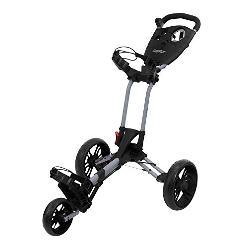 Bag Boy Spartan Push Cart Black/Red