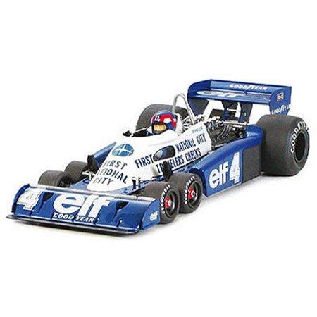 TAMIYA 20053 1:20 Tyrrell P34 Six Wheeler Monaco GP77, Modellbausatz,Plastikbausatz, Bausatz zum Zusammenbauen, detaillierte Nachbildung