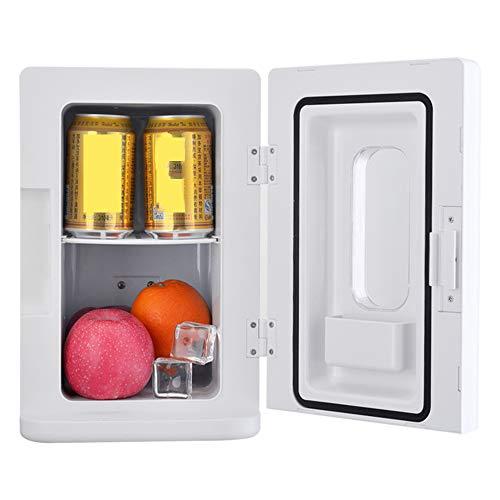 LJJY 10L tragbarer Mini-Gefrierschrank 12V68W stummer Autokühlschrank für Auto- und Haushaltsheiz- und Kühlbox maximale Heiztemperatur 65 ° C/minimale Kühlumgebung 20 ° C