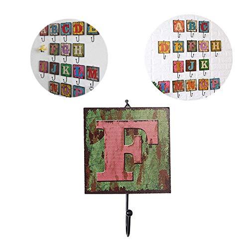 Soul hill Wandhaken Stick auf hölzerne Wand hängt Dekor Puppe Dekoration Spielwaren-Geschenk-Wand-Dekoration Fotografie Props Wand hängende Dekoration for Kinderzimmer d zcaqtajro (Color : F)