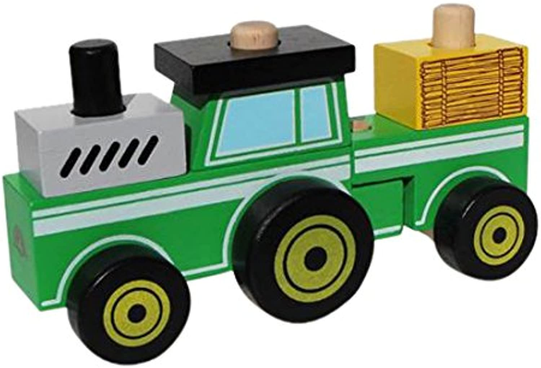 Wonderworld Make A Tractor Construction Vehicle