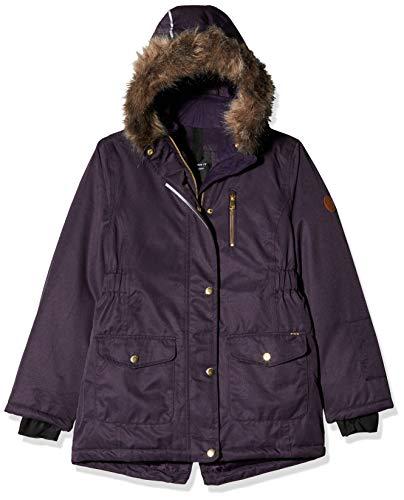 NAME IT Mädchen NKFSNOW10 Jacket 1FO Jacke, Violett (Mysterioso Mysterioso), (Herstellergröße: 122)