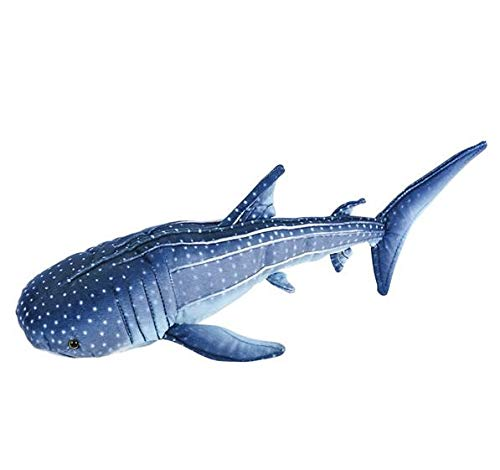 Rhode Island Novelty 17 Inch Blue Whale Shark Plush, One per Order