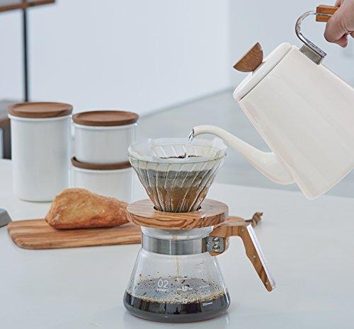 HARIO(ハリオ)コーヒーサーバー600オリーブウッド実用容量600mlVCWN-60-OV