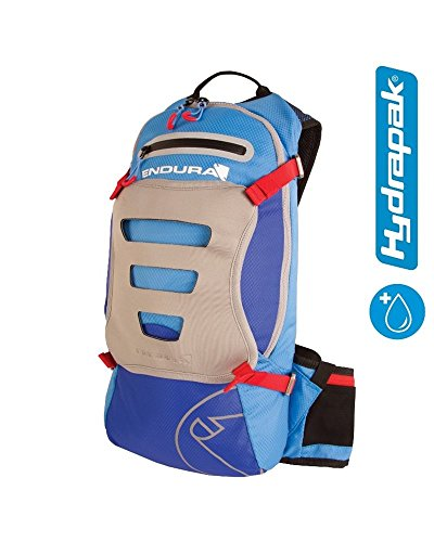 ENDURA Singletrack Hydrapack - Mochila, Azul Claro