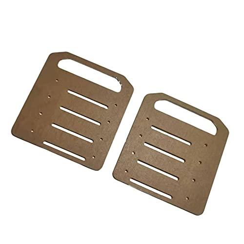 MERIGLARE Caja organizadora de Soporte de Disco Duro Multicapa de acrílico Transparente de 3,5 Pulgadas para Unidad de Estado sólido HDD - 4 Piso