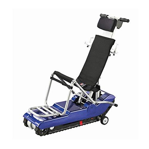 ZHANGYY Electric Stair Wheelchair,Disabled Elderly Manual Portable Wheelchair, Up And Down Stair Transport, Four Wheeled…