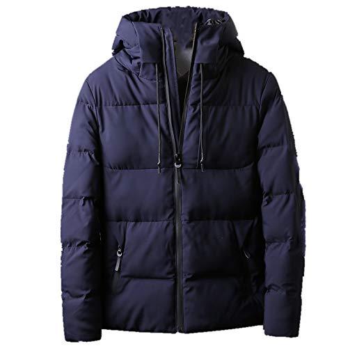 Chaqueta acolchada de plumón para hombre de invierno corta acolchada chaqueta de invierno chaqueta gruesa acolchada