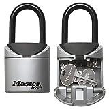Master Lock Mini Caja Fuerte para Llaves [ tamaño XS] - 5406EURD-Caja de Seguridad con Arco, Ideal para Viajes, Vacaciones o sesiones Deportivas