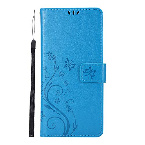 Hirkase Samsung Galaxy A41 Wallet Case for Samsung Galaxy A41 Leather Case Butterfly...