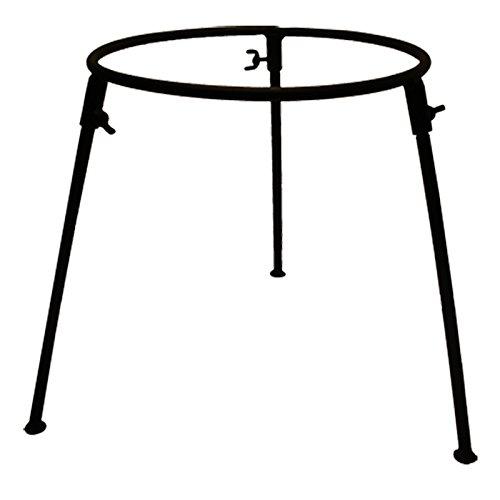posylka.de Dreibein Ständer Halterung aus Gusseisen für Wok-Pfanne 8 Liter Ø 34 cm