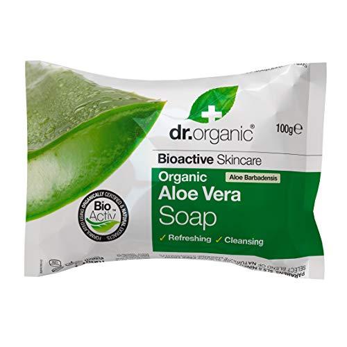 Dr.Organic Aloe Vera Sapone, 100g