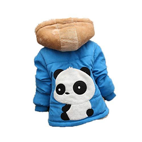 Guy Eugendssg Infant Coat Autumn Winter Baby Jackets for Baby Boys Jacket Kids Warm Outerwear Coats Blue1 18M