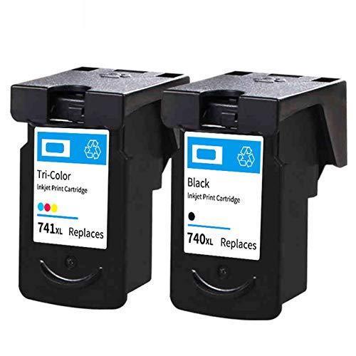 Cartuchos de tinta PG815 CL816, de repuesto de alto rendimiento, para impresora de inyección de tinta Canon MX377 MG2170 2270 3170 negro y color negro y color
