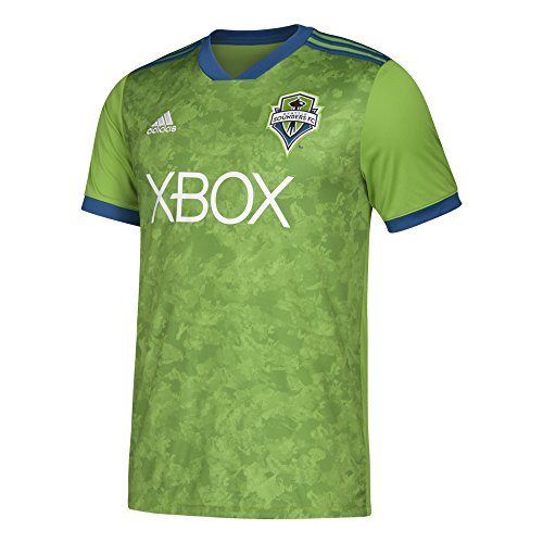adidas MLS Seattle Sounders Fc Youth Replica Jersey, Large, Rave Green