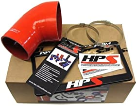 HPS (57-1078-RED) Silicone Post MAF Air Intake Tube for BMW E46 M3