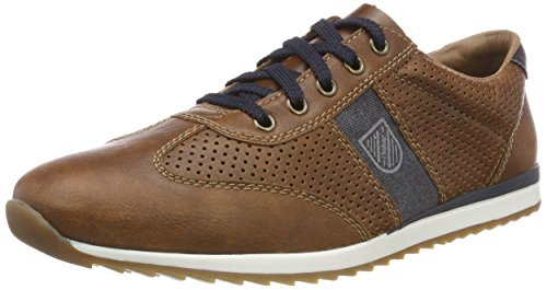 Rieker Herren 19325 Low-top, Braun (Marron/Navy/Atlantis), 43 EU