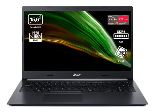 Acer Aspire 5 A515-44 - Ordenador Portátil 15.6