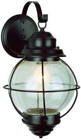 Trans Globe Lighting 69900 BK Lantern Outdoor One Wall 高額売筋 Americana モデル着用&注目アイテム