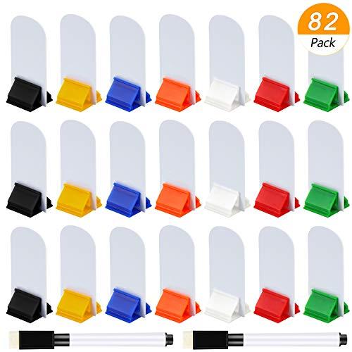 Meetory 45 DIY Leere Spielkarten und35 Kartenständer Kunststoff Kartenhalter mit 2 schwarzen Markers Stiften für Büro,Schule,Party Supplies,Kinderspiele