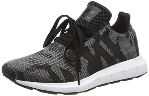 Adidas Swift Run Zapatillas de Gimnasia Hombre, Nero (Core Black/Core Black/Ftwr White), 42 EU (8 UK)
