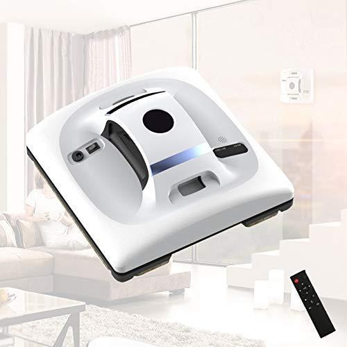 Enwebalay Robot Lavavetri Automatico,Detergente Vetri Elettrico,Grande Aspirazione 60Kpa,Alta Efficienza Rumore Basso per Piastrelle, Marmi, Tavoli
