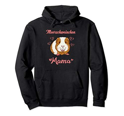 Meerschweinchen Mama Pullover Hoodie