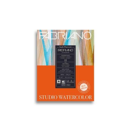 Savoir Faire Studio Watercolor Pad, 8 x 10, Multi