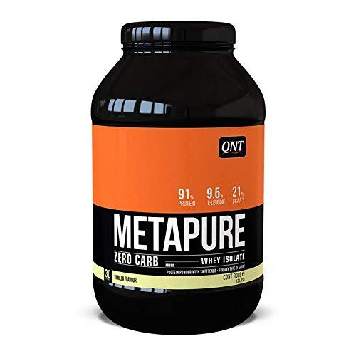 QNT Metapure Zero Carb Whey Isolate, Sabor Vanilla - 908 gr