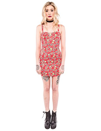 Iron Fist Kleid Scary Cherry Dress Rot S