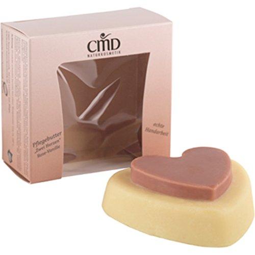 CMD Naturkosmetik - Beurre de soin rose vanille « Deux cœurs » – 90 g.