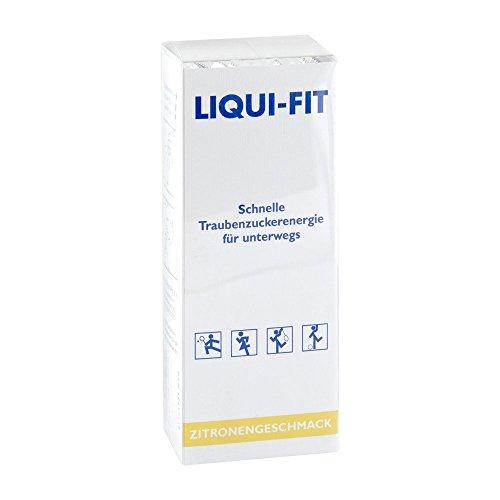 LIQUI FIT flüssige Zuckerlösung Lemon Beutel 12 St
