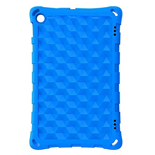 Kaxofang All-New Amazon Fire HD 10 Tablet Case for Adult and Kids,Light Weight Shock Proof Back Cover Tablets, EVA Material,Blue