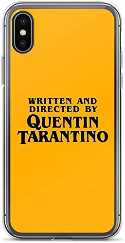 No brand Compatible with iPhone X/XS Pure Clear Case Cover Written And Directed by Quentin Tarantino