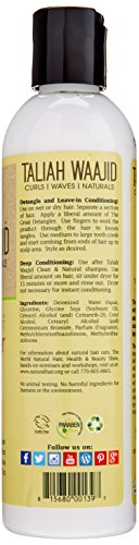 Taliah Waajid Curls, Waves and Naturals The Great Detangler, 8 Ounce
