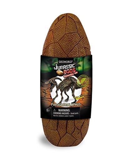 Geoworld Jurassic Eggs CL195K Parasauroloph - Huevo con Esqueleto de Dinosaurio para...