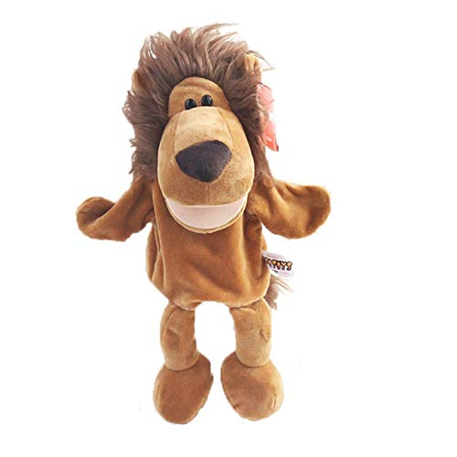 Kkghta Juguete de Peluche de marioneta de Mano de Jirafa, Juguete de simulación de Felpa de marioneta de Mano Animal