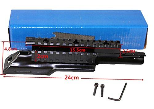 Ak 47 Top Cover Scope Mount FIRECLUB Weaver Rail Receiver...