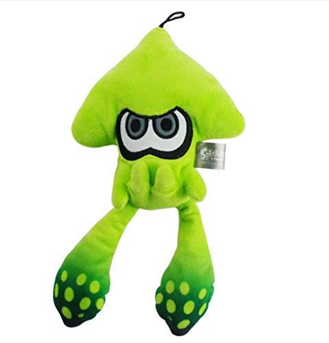 xiaoyuershop Splatoon Jet Warrior Tintenfisch Plüsch Spielzeug Plüsch Puppe Geschenk 25cm
