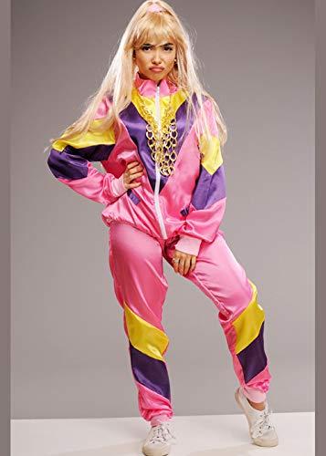 Magic Box Disfraz de chándal Rosa de Estilo Vicky Pollard para Adulto Small (UK 8-10)