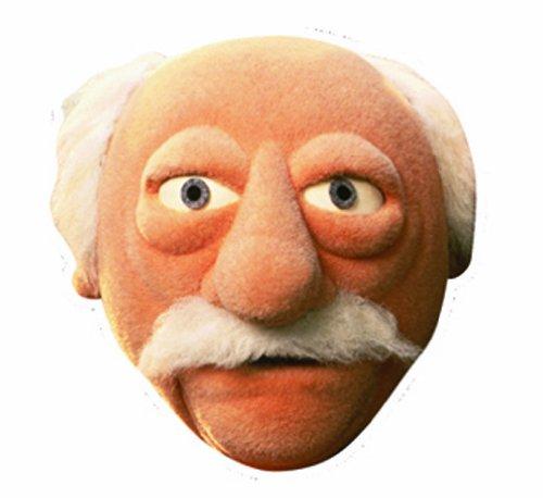 Star Cutouts Bedruckte Gesichtsmaske von Waldorf Muppets