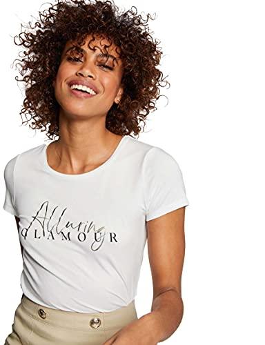 Morgan Tshirt DALUR Camiseta, Offwhite, TS para Mujer