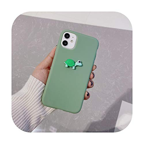 Funda de silicona para Huawei Honor 8 9 10 Lite 20 30 Pro Honor 10i 20i X10 8X Max 9A 9S 9C Soft TPU Case Cover XLB5-Green-para Honor 30 Pro