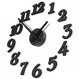 DIY CLOCK 360 壁掛け 時計 デザイン インテリア クロック (数字)