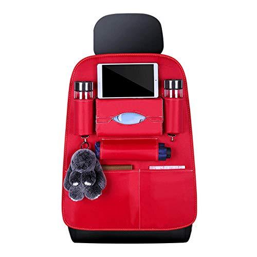 Sac de rangement pour siège arrière, gestionnaire de rangement pour voiture, multifonctionnel, facile à nettoyer, convient à la plupart des sièges d'auto