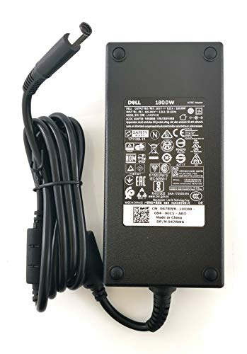 Dell Latitude, Inspiron, Vostro, Studio & Precision 180W Power Adapter + 2 Pin Power Cable DW5G3 WW4XY