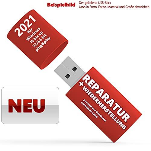 TREIBER DRIVER + REPARATUR USB-STICK FÜR Windows 10-XP 32/64 Reparatur 2021
