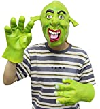 ZoneYan Mascara de Halloween, Máscara de Látex Realista, Máscara Terrorífica, Máscara de Monstruo, Máscara de Halloween Espeluznante, Máscara...